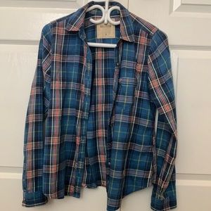 Hollister M sized flannel